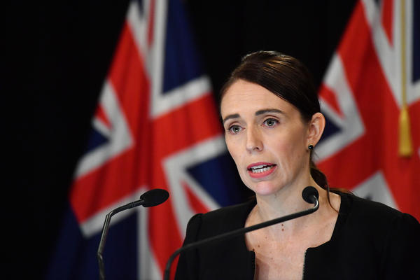 New Zealand Prime Minister Jacinda Ardern addresses the media on March 16 in Wellington, New Zealand. Ardern said she would seek a change in her country's gun laws after after at least one man opened fire during afternoon prayers Friday and killed at least 49 people at two mosques in Christchurch.