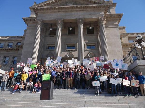 Youth Climate Strike in Boise, Idaho