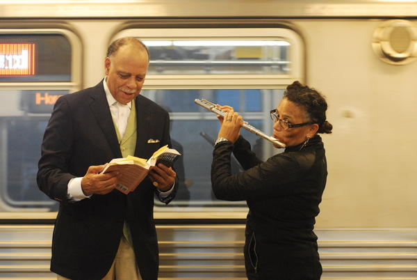Poet Haki R. Madhubuti and musician Nicole Mitchell collaborated on a collection of poems set to music.