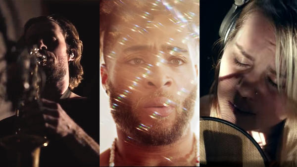 (From left) Philadelphia's Max Swan, Kingsley Ibeneche and Ellen Siberian Tiger bring their music to life in breathtaking videos.