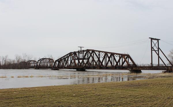 Rising waters have breached levees along the Missouri River. The Doniphan County Fire Chief monitored the levee near St. Joseph through Tuesday night.
