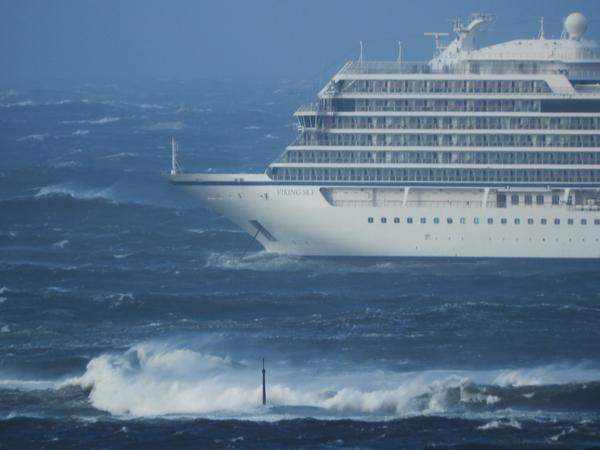 The Viking Sky cruise ship sent out a mayday call on Saturday after encountering engine problems amid high seas and strong winds.