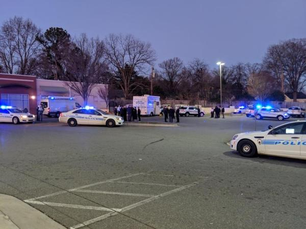 CMPD on scene of an officer-involved shooting on West Blvd. near Remount Rd. Jan. 16, 2019