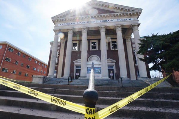 The Karpeles Manuscript Library Museum in was badly damaged in a fire on Tuesday night in south St. Louis.
