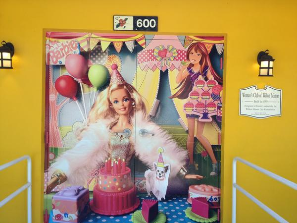 """Is she REALLY 60? Art Gallery 21 in Wilton Manors has an exhibit celebrating """"The Art of Barbie."""""""