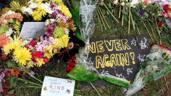 People came together for a variety of memorials for the victims of the Marjory Stoneman Douglas High School shooting.
