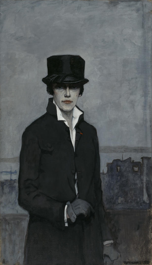 A wealthy American living in Paris, Romaine Brooks had the freedom to paint whatever and however she wanted. Don't let her sober, 1923 <em>Self-Portrait </em>fool you — Smithsonian curator Virginia Mecklenburg says in the 1910s and 1920s, Brooks and her circle of friends had plenty of fun in Paris.