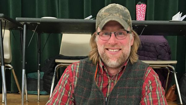 """Zeb Towne, the elected dogcatcher of Duxbury, Vt. """"I'm the only person in the country who gets elected as a dogcatcher. So, I'm awesome, I guess,"""" says Towne."""