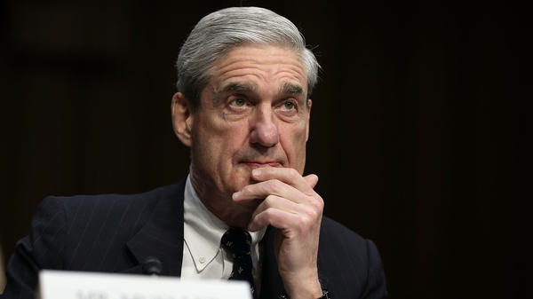 Robert Mueller testifies during a Senate hearing in 2013. The former FBI director was appointed special counsel in the spring of 2017 after President Trump fired FBI Director James Comey.