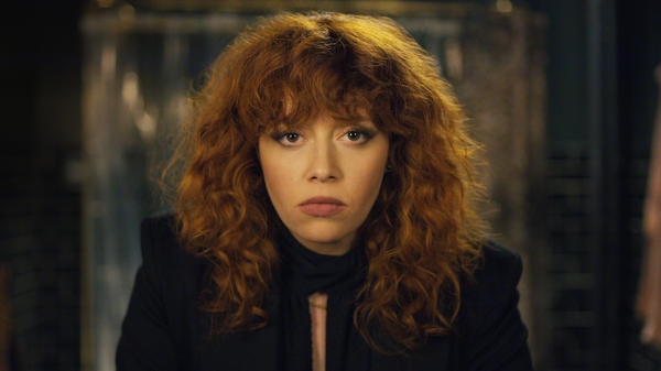 Natasha Lyonne stars as Nadia, a woman who keeps dying — and coming back to life — on the Netflix series <em>Russian Doll</em>. She co-created the series with Amy Poehler and Leslye Headland.