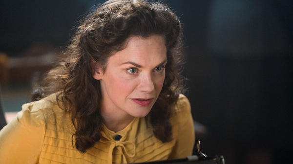Ruth Wilson plays her own grandmother in <em>Mrs. Wilson,</em> a three-part series about a woman unraveling the secrets of her late husband.