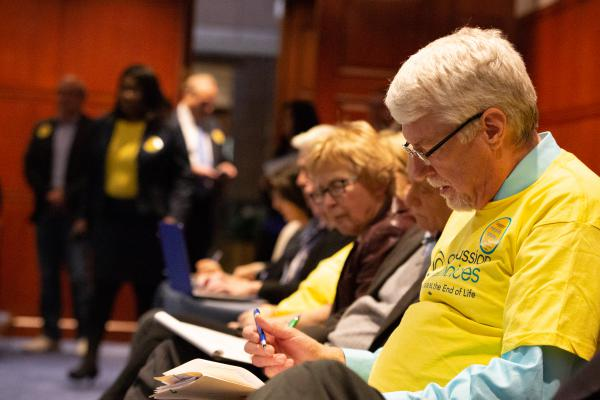 Advocates testified last month at a public hearing in support of a bill that would bring aid-in-dying to Connecticut.