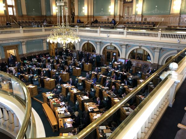 The Colorado House voted 38-25 to pass the extreme risk protection order bill. All of the Republicans in the chamber opposed the measure.