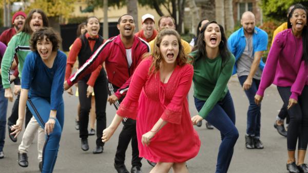 Over the course of four seasons of <em>Crazy Ex-Girlfriend</em>, Rebecca Bunch (Rachel Bloom) has kick-ball-changed.