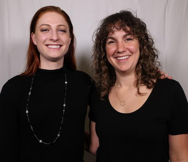 Joanna Berkebile, left, and Stacey Todd.