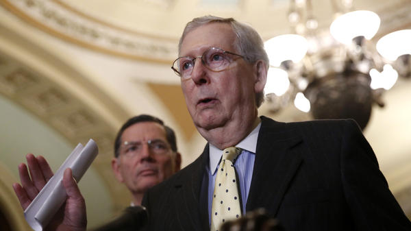 Senate Majority Leader Mitch McConnell, R-Ky., argued a rules change was needed because Democrats were holding up President Trump's judicial and agency nominees.