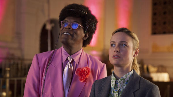 Samuel L. Jackson and Brie Larson share the wonder of some very odd things in <em>Unicorn Store</em>.