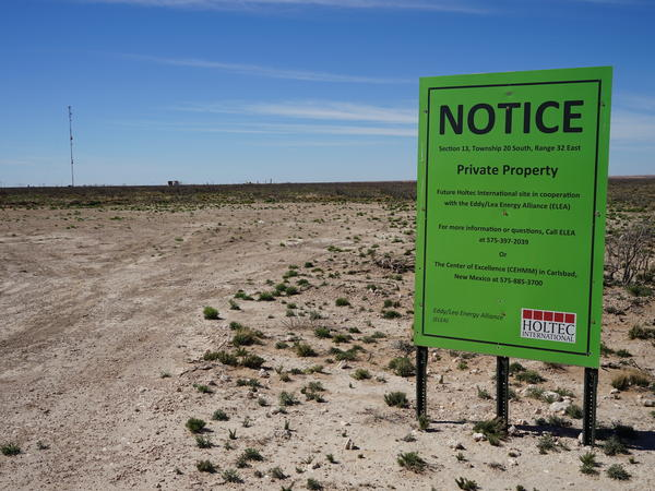 A 1,000-acre patch of southeast New Mexico desert may offer a temporary solution to the nation's longstanding nuclear waste problem.
