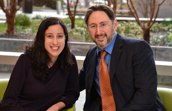 Nina Martinez has become the first living HIV-positive organ donor. Above, Martinez is pictured with her surgeon, Dr. Dorry Segev of the Johns Hopkins University School of Medicine.