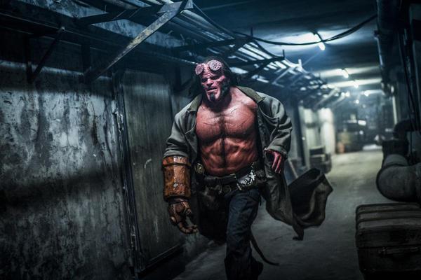 Aw, crap: David Harbour stars in the 2019 reboot of <em>Hellboy. </em>