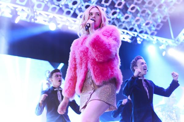 <em>Teen Spirit</em> stars Elle Fanning as Violet, a girl from the Isle of Wight with dreams of being a pop star.