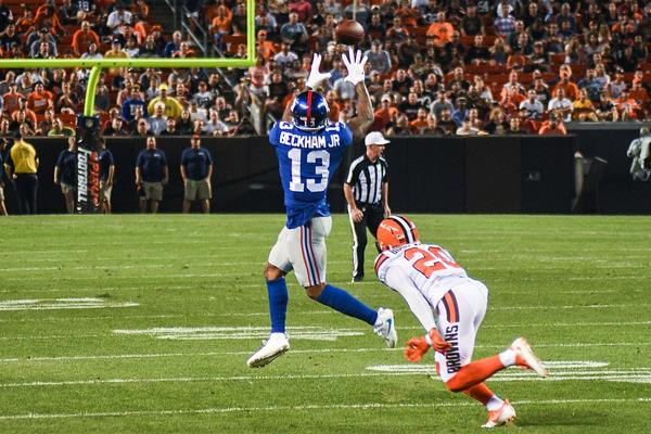 Odell Beckham Jr. when he played for the New York Giants.