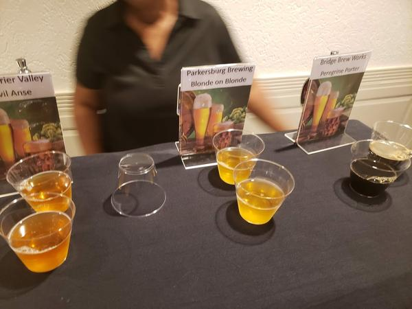 Attendees at the Craft: Farm to Bottle Summit got the opportunity to sample craft brews from West Virginia.