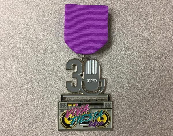 TPR's 2019 medal