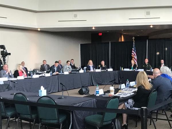 The Marjory Stoneman Douglas Public Safety Commission on Wednesday is holding its second of two meetings this week in Sunrise.