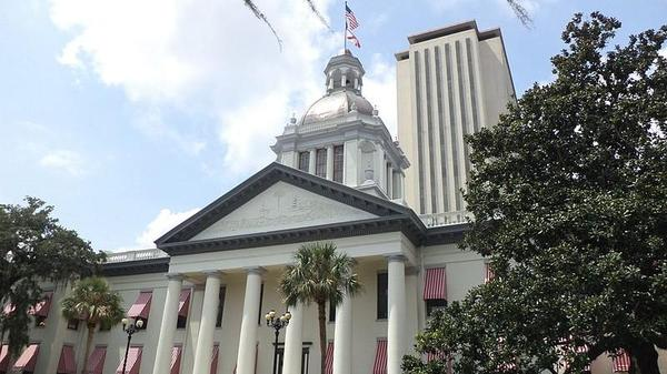 The Florida state capitol.