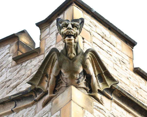 Photographer Jeff Morrison's new books documents the gargoyles, mythical creatures, and historic figures sculpted into architecture all around Detroit.