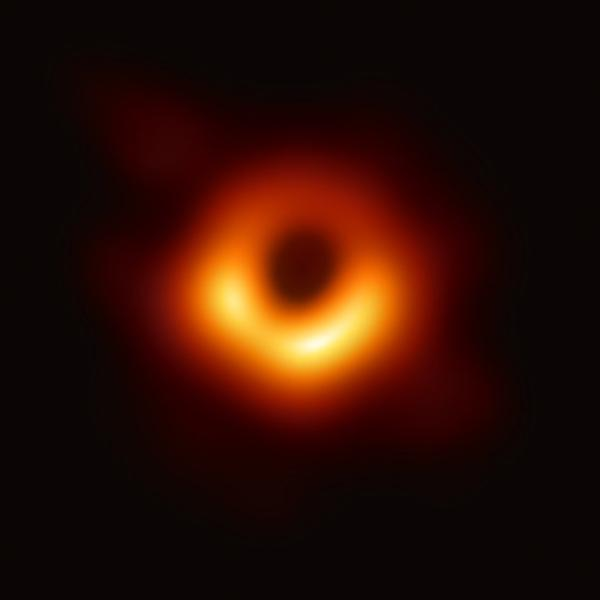 A recent science headline that's generated a lot of discussion: The first image of a black hole by the Event Horizon Telescope. The object M87* is located at the heart of distant galaxy Messier 87.