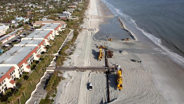 U.S. Army Corps of Engineers, Jacksonville District, beach project.