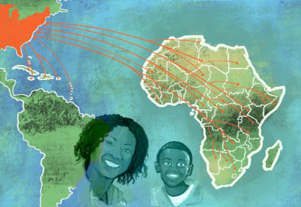 Many African Americans don't know where their ancestors are from due to the transatlantic slave trade. They're increasingly using DNA test kits, like those manufactured by 23andMe, but aren't finding complete answers.