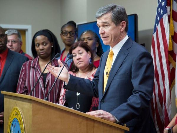 North Carolina Gov. Cooper vetoed 'born-alive' legislation Thursday morning.