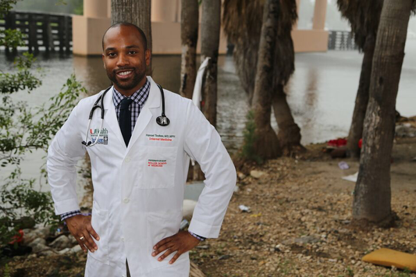 Dr. Hansel Tookes has been pushing for needle exchange access in Florida for years