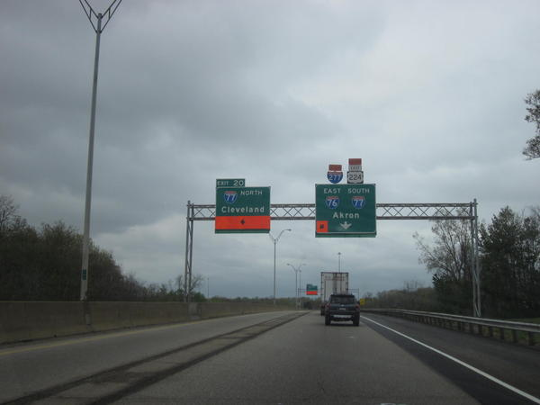 A busy area of I-76 will close for two weeks starting Monday, April 22nd.