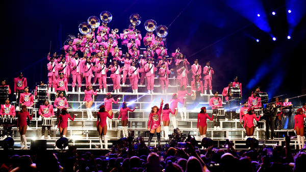 Members of Beyonce's Coachella marching band talk about Bey's commitment to authenticity and the show's historic legacy.