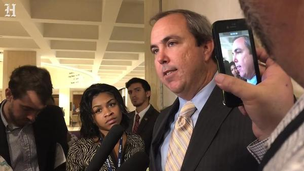 Sen. Joe Gruters talks about his bill SB 168 to ban sanctuary cities in Florida on March 12, 2019.