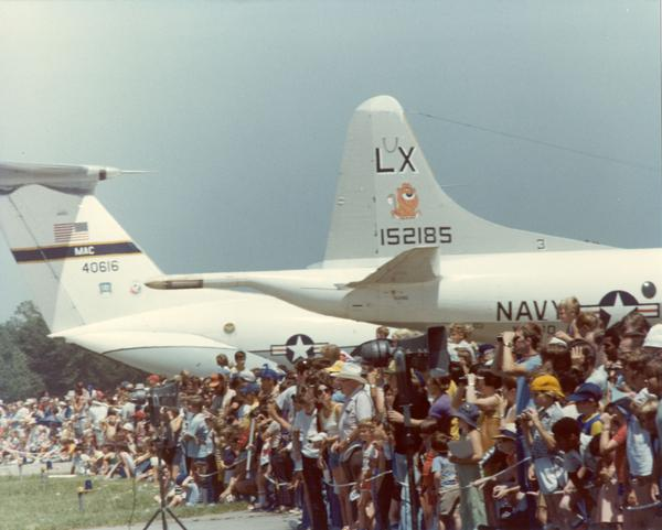 The annual air shows at Richards-Gebaur drew hundreds of thousand of people.