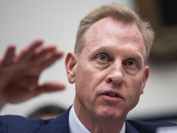 Acting Secretary of Defense Patrick Shanahan was cleared by the Pentagon's Inspector General of allegations of ethics violations. Shanahan is seen here testifying at a House Armed Services Committee hearing last month.
