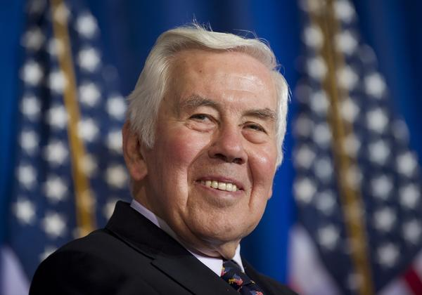 Former Indiana Sen. Richard Lugar died Sunday at 87. Lugar was known for his lasting nonproliferation work after the Cold War.