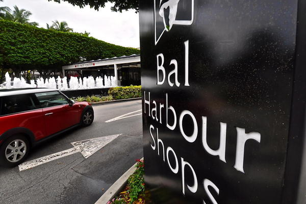 Bal Harbour Shops will be one of  several commercial establishments affected by an ordinance that would ban all single-use plastics in the city. The ban will be enforced starting in December.
