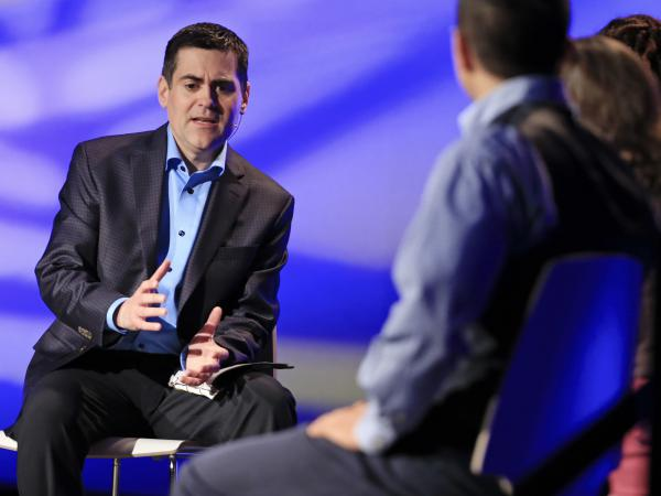 Russell Moore (left), president of the Southern Baptists' Ethics and Religious Liberty Commission,  is under attack from some of the religious right figures he criticized during the U.S. presidential campaign.