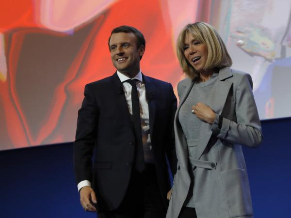 French presidential election Emmanuel Macron and his wife Brigitte met and fell in love when she was his high school drama teacher. They married in 2007.