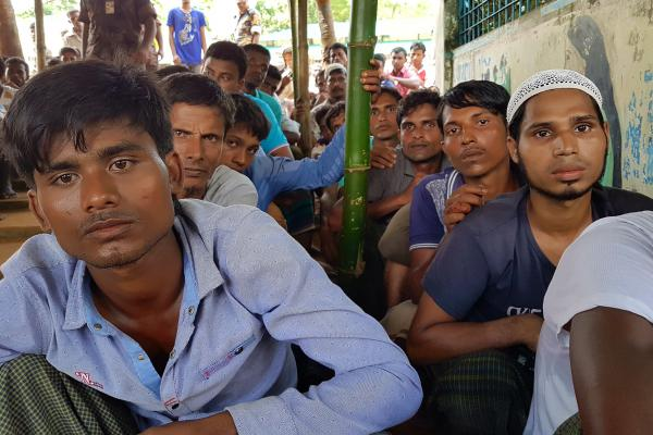Bangladesh is struggling to accommodate 500,000-plus Rohingya who have poured across the border in less than two months. It isn't recognizing them as refugees and would prefer to see them repatriated.