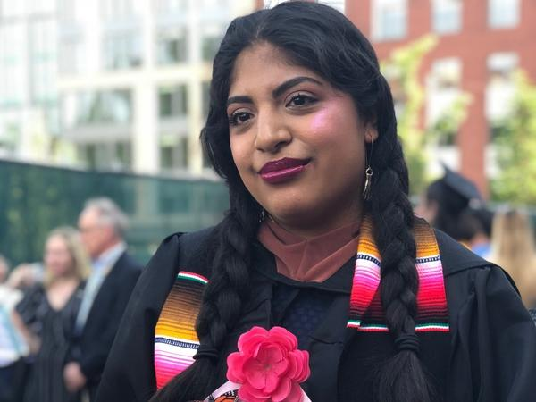 Jessica Moreno-Caycho graduates on Saturday from Virginia Commonwealth University.