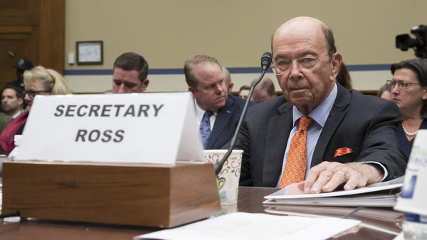 Commerce Secretary Wilbur Ross, who oversees the Census Bureau, appears before the House Committee on Oversight and Government Reform to discuss the 2020 census, in Washington, D.C., in October 2017.