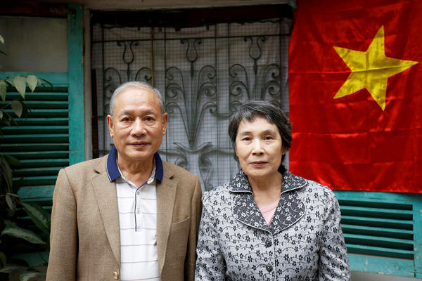 Pham Ngoc Canh, from Vietnam, met his North Korean wife, Ri Yong Hui, in 1971. They finally were able to marry in 2002 and now live in Hanoi.