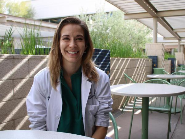 Dr. Hillary Tamar, who's in the second year of her family medicine residency in Phoenix, is part of a new generation of doctors who are committed to treating addiction.
